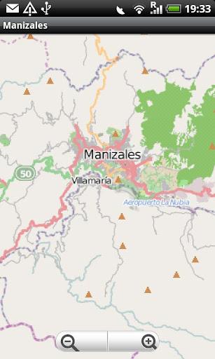 Manizales Street Map