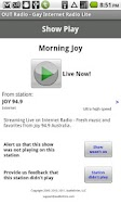 Screenshot of OUT Radio - Gay Radio Lite