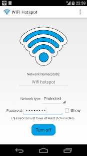WIFI Hotspot - screenshot