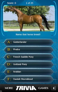 Name that Horse Breed Trivia - screenshot