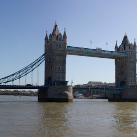 Tower Bridge by Mike Ross - Travel Locations Landmarks ( england, london, mike ross, tower bridge, tourism )