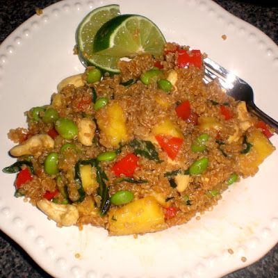 Veganomicon's Pineapple-Cashew-Quinoa Stir-Fry