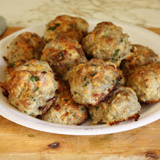 Old World Style Italian Turkey Meatballs