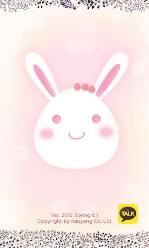 KakaoTalk theme Spring Rabbit