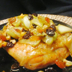 Chicken With Cherry-Ginger Chutney