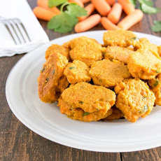 Skinny Carrot Fritters