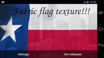 Screenshot of Texas Flag Live Wallpaper