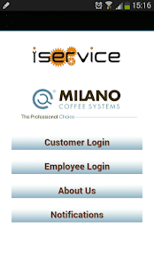 Milano Coffee Systems - screenshot