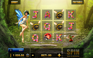Screenshot of Slots: Forest of the Fairies