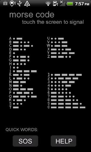 Morse Code App