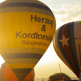 Clark, Pampanga's hot air balloon festival by Christine Porras Toribio - News & Events Sports ( #hotairballoon #clark #colorful #morningbreeze,  )