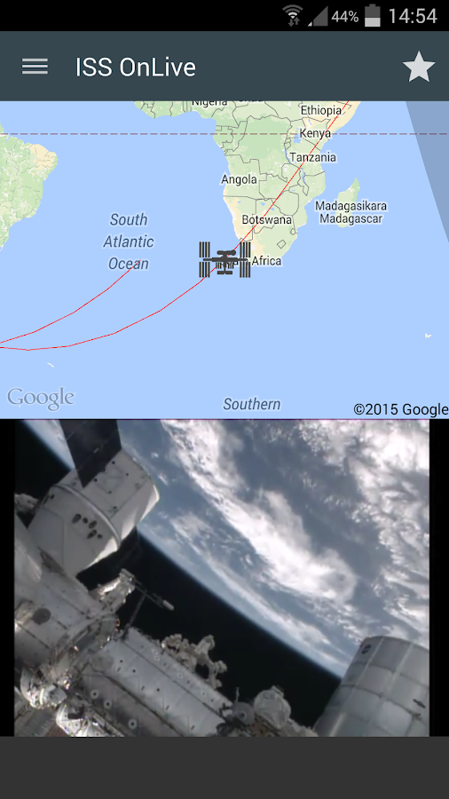 ISS onLive: Live Earth cameras Screenshot 13