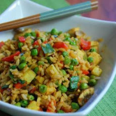 Tofu and Vegetable Rice