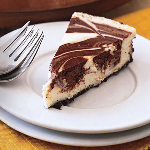 Chocolate Marble Cheesecake Sour Cream Recipes | Yummly