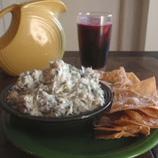 Tex-Mex Spinach Dip- Crock Pot