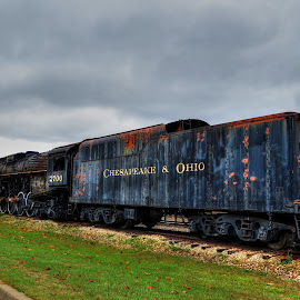 by Stan Tharp - Transportation Trains
