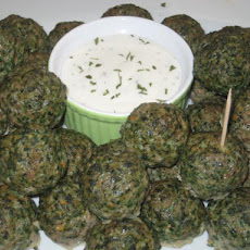 Mom's Spinach Meatballs