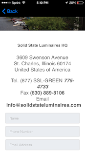 Solid State Luminaires - screenshot