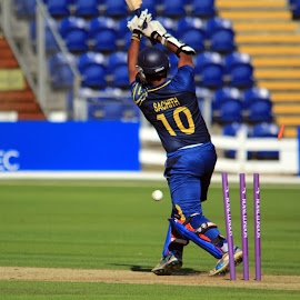 Bowled by John Davies - Sports & Fitness Cricket ( new zealand 'a', john davies, cricket, swalec stadium, sri lanks 'a', cardiff )