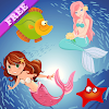 Mermaid Puzzles for Toddlers