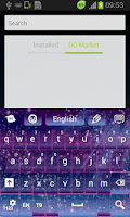 Screenshot of Fairy Dust Keyboard