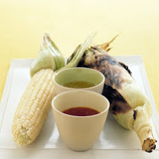 Grilled Corn with Seasoned Butter