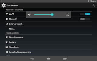 Screenshot of Flat Transparency Theme