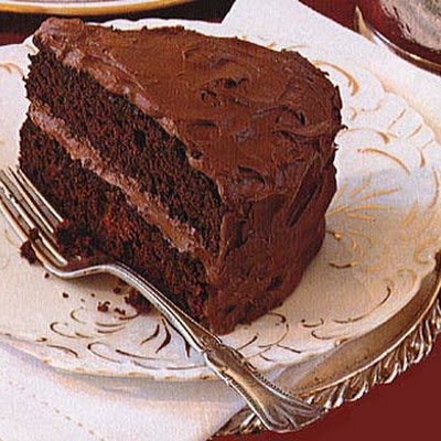 Devil's Food Cake with Creamy Chocolate Frosting