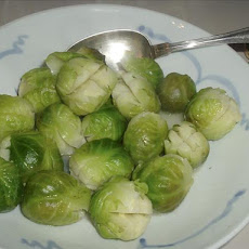 Lemon Glazed Brussels Sprouts