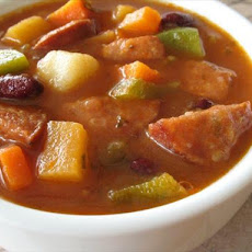 Autumn Sausage Soup