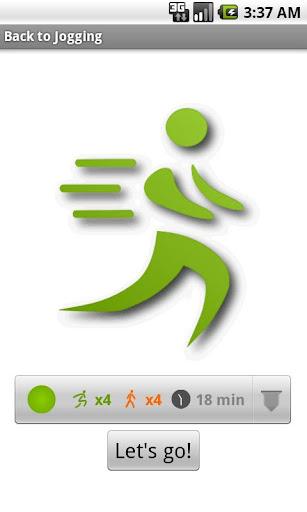 Back to Jogging