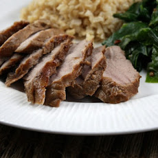 Asian- Spiced Pork Tenderloin