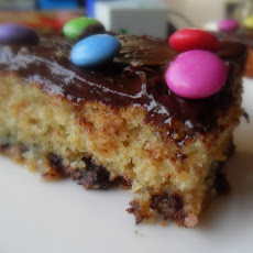 Chocolate Chip Tray Bake