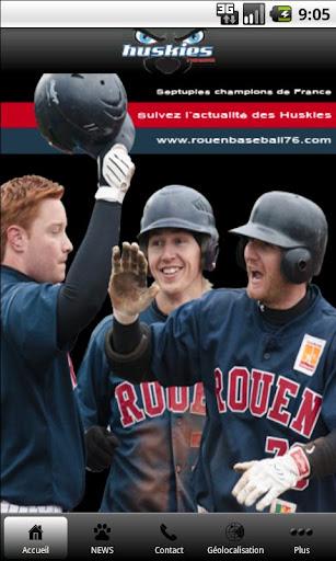 Rouen Huskies Baseball