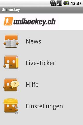 Unihockey.ch Mobile