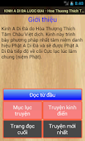 Screenshot of Kinh A Di Đà Lược Giải