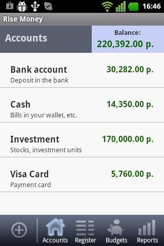 Rise Money - expense tracker