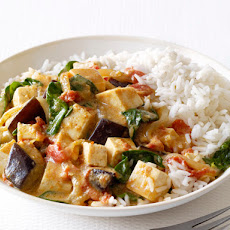 Eggplant and Tofu Curry