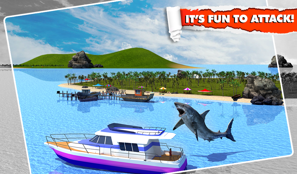 Angry Shark Simulator 3D Screenshot 11