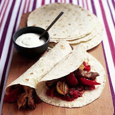 Mexican Wraps With Simple Salsa