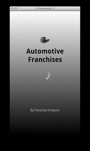 Automotive Franchises