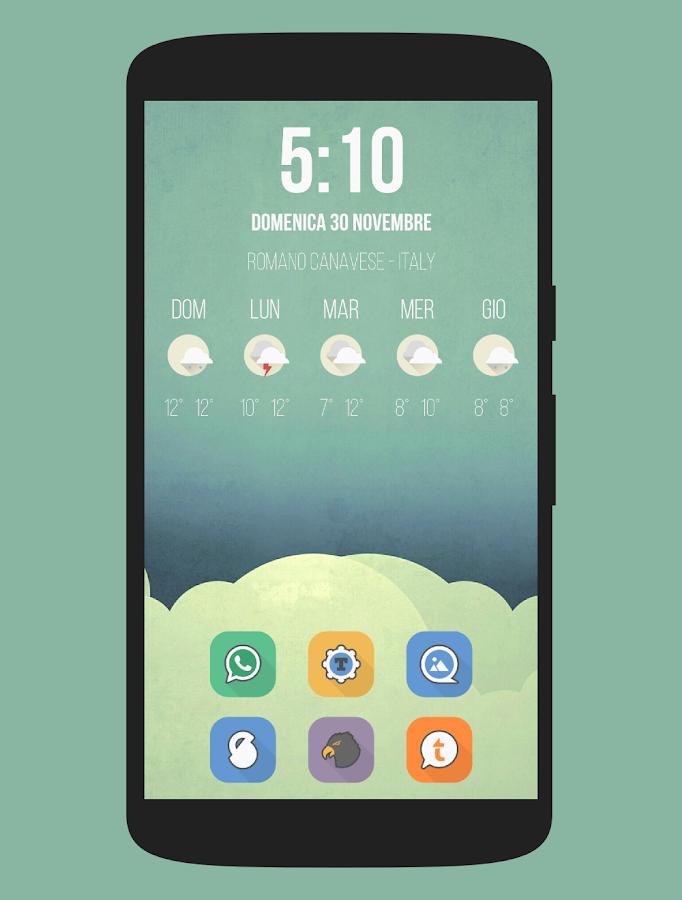 Parallax - Icon Pack Screenshot 1