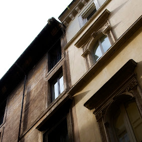 Windows and Soul by Lori White - Buildings & Architecture Other Exteriors ( rome, buildings, windows, homes, city )