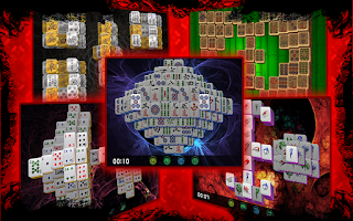 Screenshot of Mahjong Deluxe