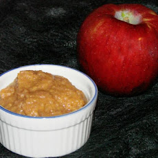 Applesauce and Peanut Butter Spread or Dip