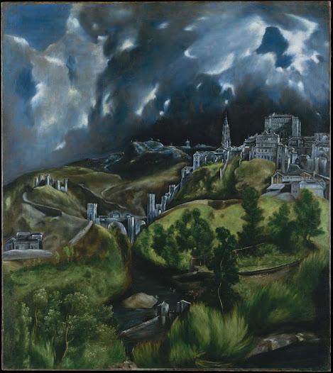Greco el, Veduta di Toledo