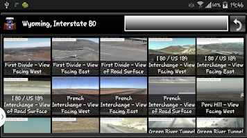 Screenshot of Cameras Wyoming