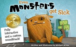 Screenshot of Even Monsters Get Sick
