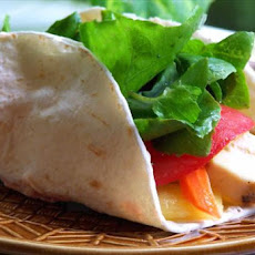 Crunchy Chunky Chicken Wrap