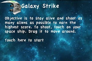 Screenshot of Galaxy Strike